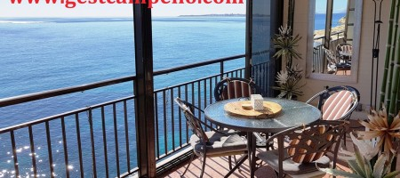 Apartamento en primerísima línea de mar en Coveta Fuma, Campello.
