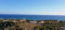 Villa in Coveta Fumá with superb sea views.