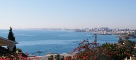 Parcela con fantasticas vistas al mar en Coveta Fuma